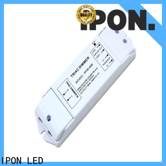 IPON LED Custom phase cut dimming led driver manufacturers for Lighting adjustment