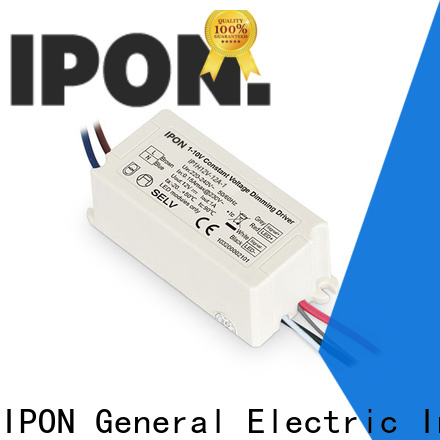 IPON LED High-quality constant voltage led driver Factory price for Lighting adjustment