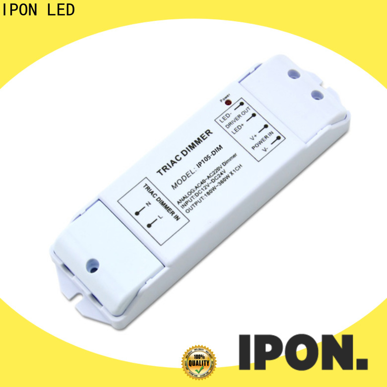 IPON LED Custom phase cut dimming led driver Suppliers for Lighting control system