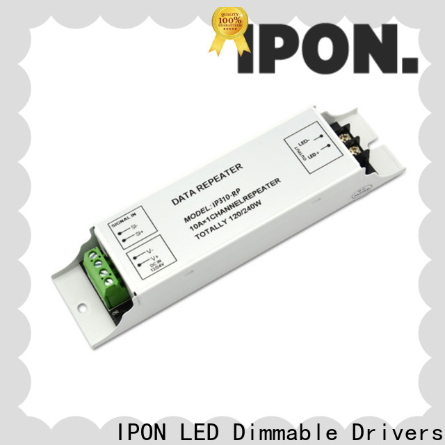 IPON LED LED Power Amplifiers Series rgb led amplifier factory for Lighting control