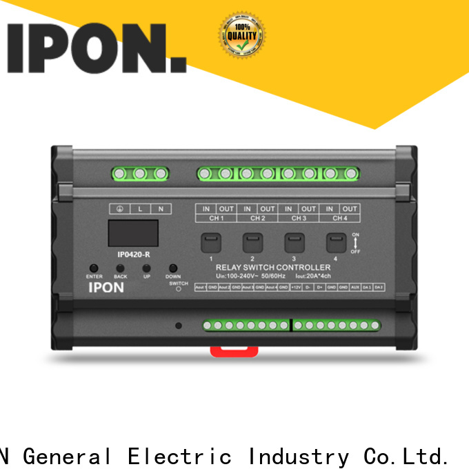 IPON LED relay switch factory for Lighting control system
