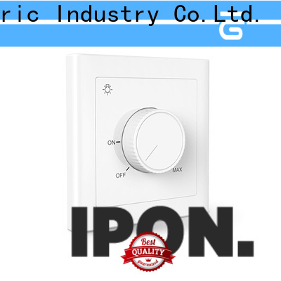 IPON LED low wattage led dimmer switch China manufacturers for Lighting control system