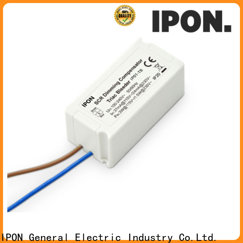 IPON LED triac phase control circuit manufacturers for Lighting control system