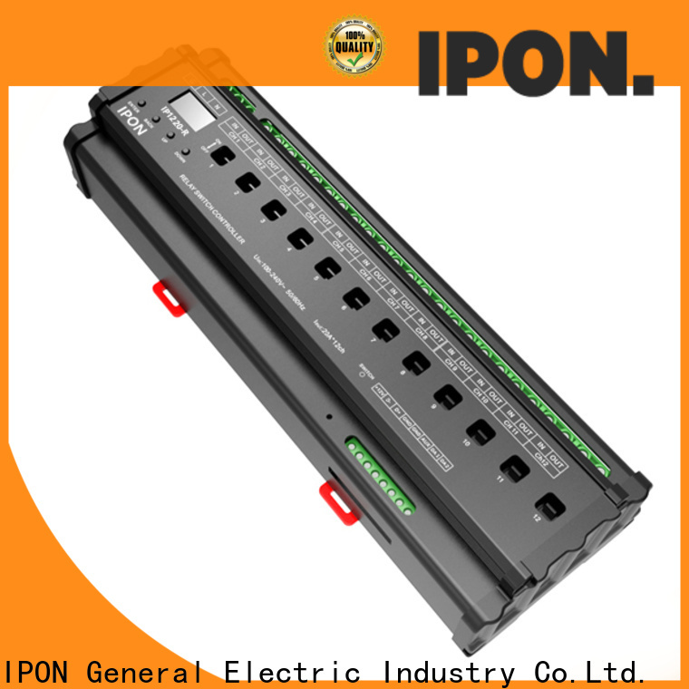 IPON LED Latest relay power switch in China for Lighting control