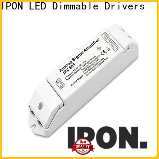 IPON LED dmx to 0-10v converter company for Lighting control