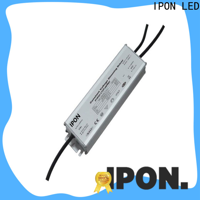 IPON LED waterproof electronic led driver factory for Lighting control