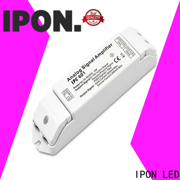 IPON LED Analog Signal Amplifiers led signal amplifier Supply for Lighting control