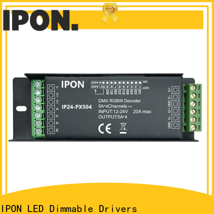 IPON LED Top quality berapa warna pada dmx led decoder Suppliers for Lighting adjustment
