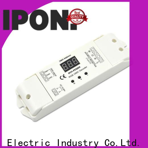 IPON LED Latest dmx digital decoder supplier for Lighting adjustment