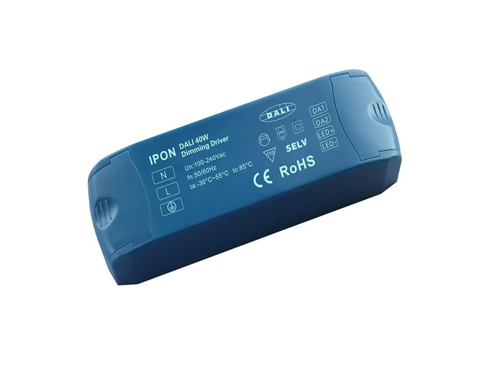 40W 24VDC 1.7A1ch CV DALI Driver IP1H24V-40D-0