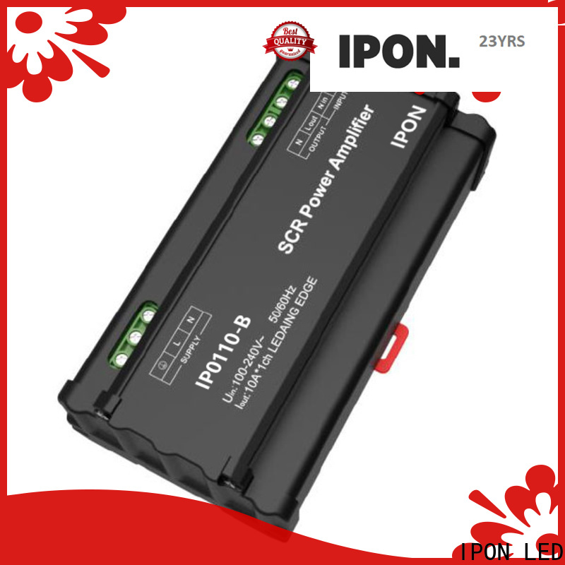 IPON LED Top quality commercial power amplifier Suppliers for Lighting control system