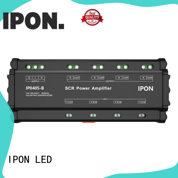 IPON LED quality power amplifier for sale China suppliers for Lighting control system