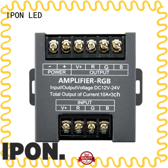 IPON LED power amplifier design in China for Lighting control system