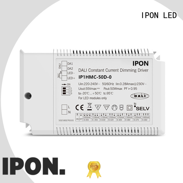 IPON LED philips dali dimmable led driver factory for Lighting control