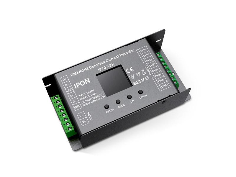 4ch 200~1600mA DMX512/RDM CC Decoder