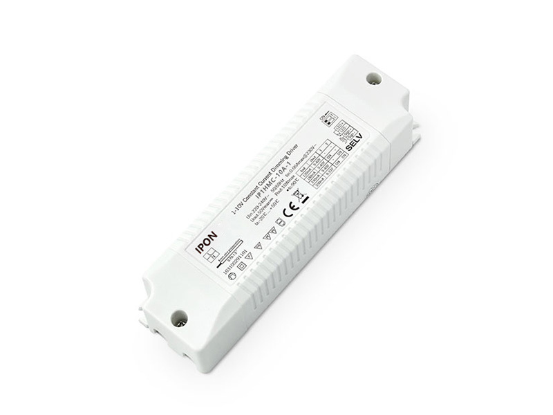 10W 120/180/240/300mA*1ch CC 1-10V Driver-IPON