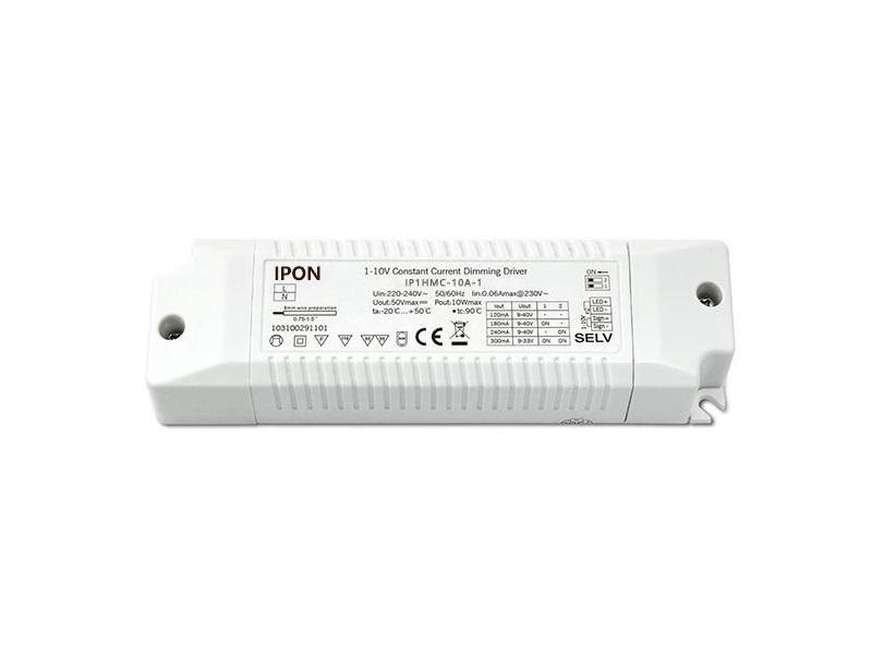 product-IPON LED-10W 120180240300mA1ch CC 1-10V Driver-img