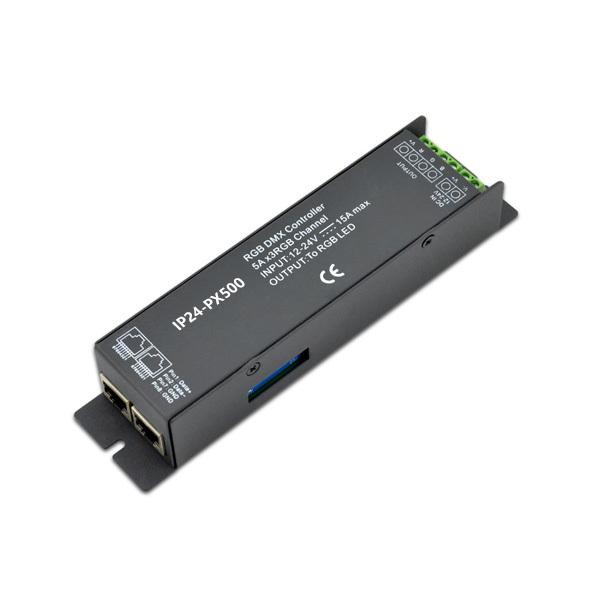 180~360W 5A3ch CV DMX Decoder IP24-PX500