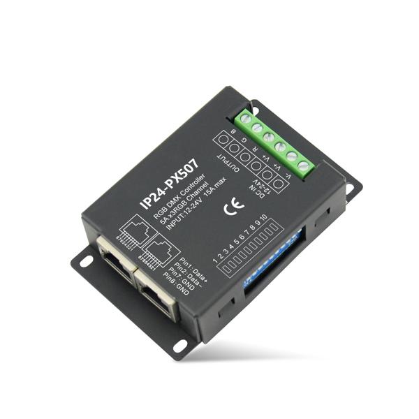 180~360W 5A3ch CV DMX Decoder IP24-PX507
