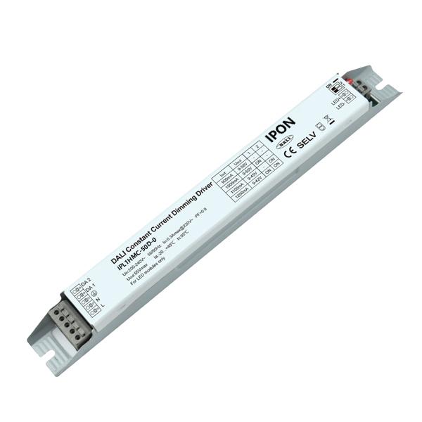 50W 900~1200mA1ch CC DALI Driver IPL1HMC-50D-0