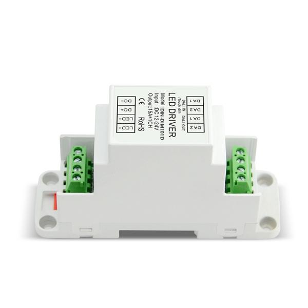 12-24V 10A1ch TouchDIM CV DALI Decoder DIN-DIM101D