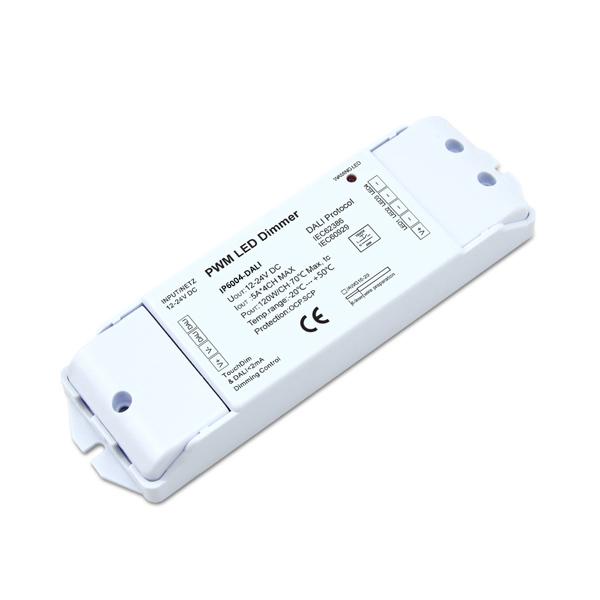 12-24VDC 5A4ch Touch DIM CV DALI Decoder IP6004-DALI