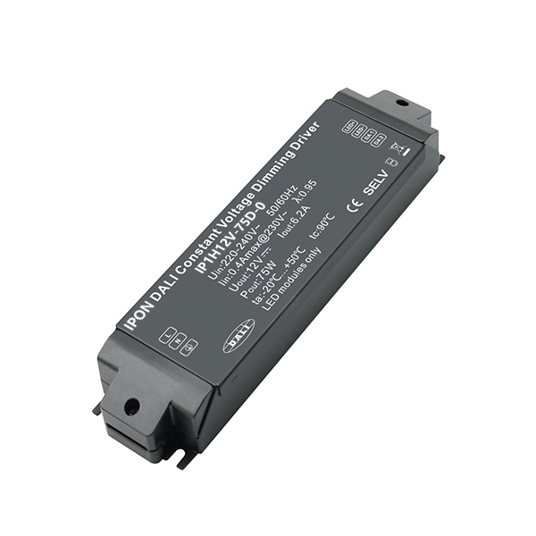 75W 12VDC 6.2A1ch CV DALI Driver IP1H12V-75D-0
