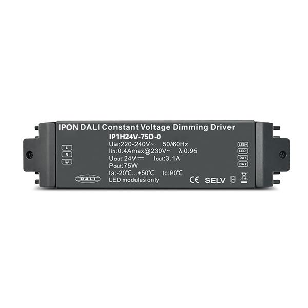 75W 24VDC 3.1A1ch CV DALI Driver IP1H24V-75D-0