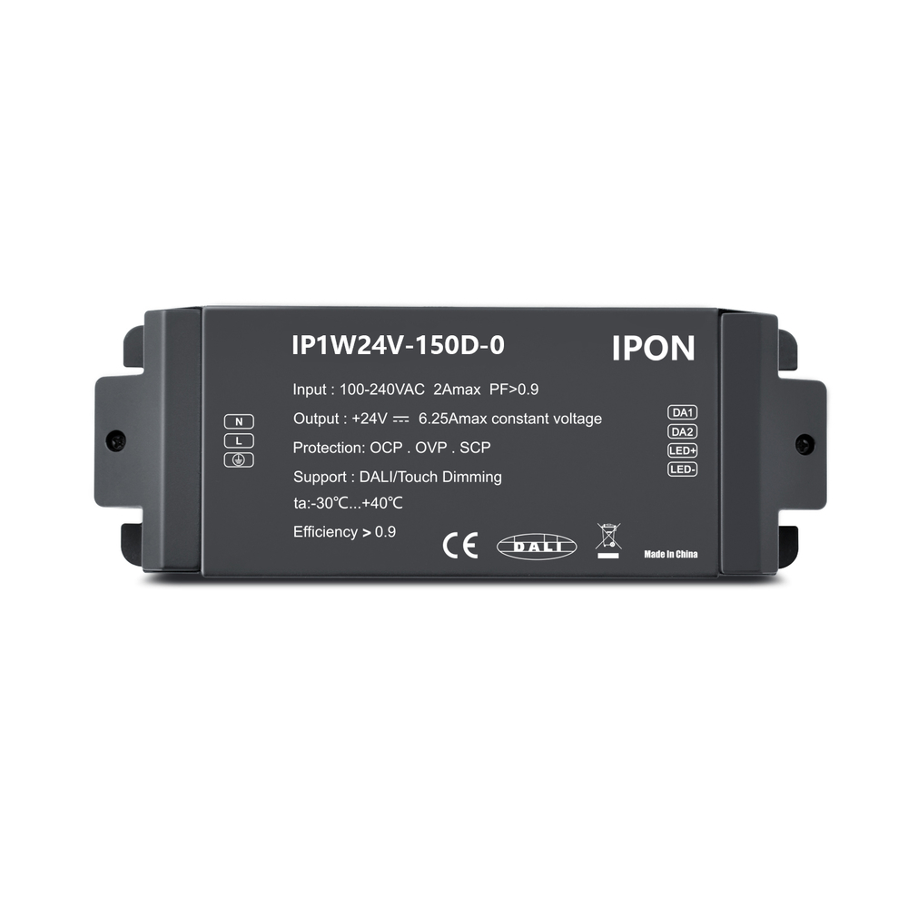 150W 12VDC 11.25A1ch CV DALI Driver IP1W24V-150D-0