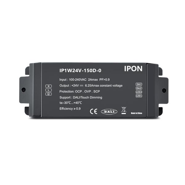 150W 24VDC 6.25A1ch CV DALI Driver IP1W24V-150D-0
