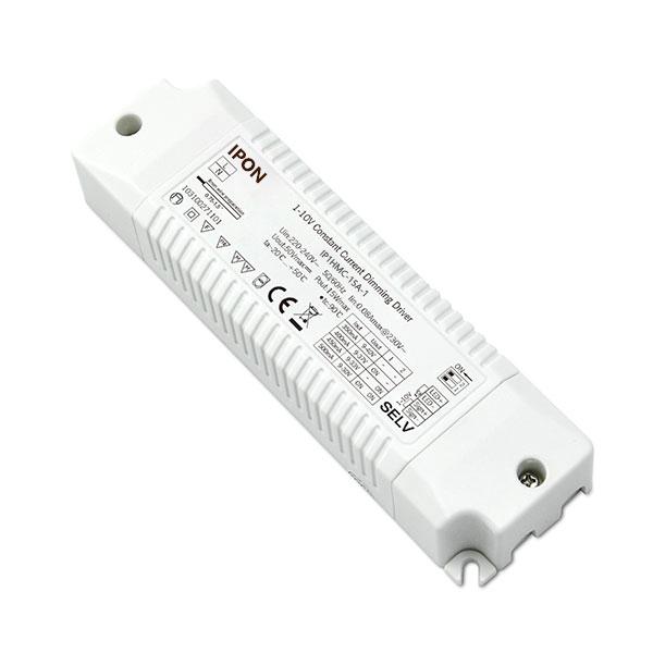 15W 350,400,450,500mA1ch CC 1-10V Driver IP1HMC-15A-1