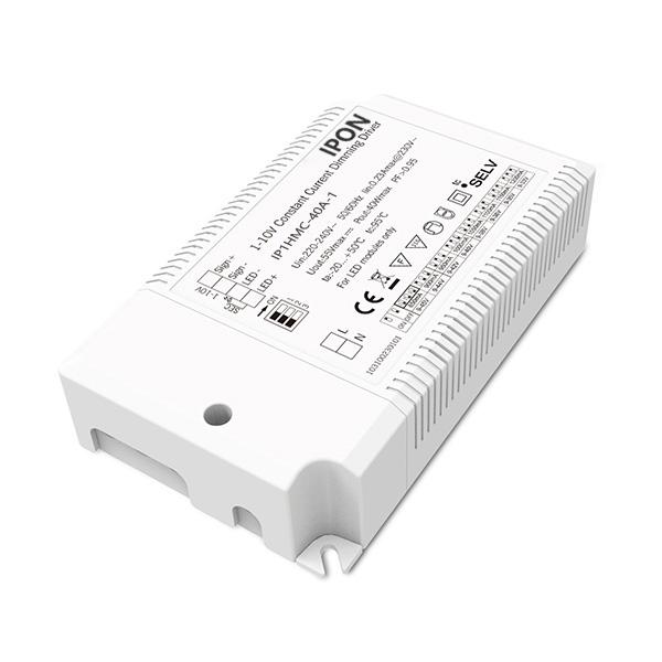 40W 850~1200mA CC 1-10V Driver IP1HMC-40A-1
