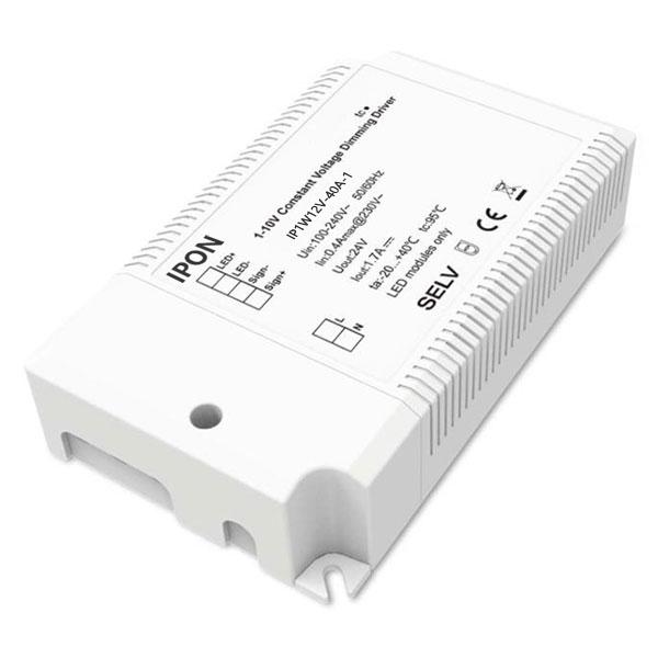 40W 12VDC 3.4A1ch CV 1-10V Driver IP1W12V-40A-1