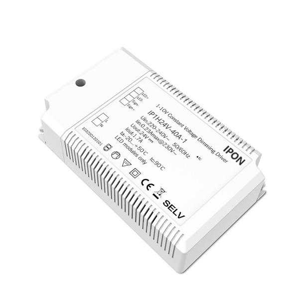 40W 24VDC 1.7A1ch CV 1-10V Driver IP1H24V-40A-1