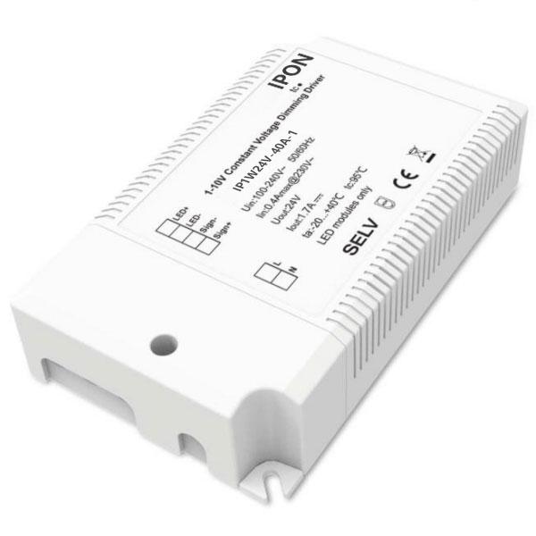 40W 24VDC 1.7A1ch CV 1-10V Driver IP1W24V-40A-1