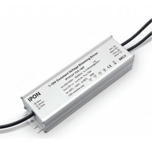 75W 12VDC 6.2A1ch Waterproof CV 1-10V Driver IP1H12V-75A-1WP