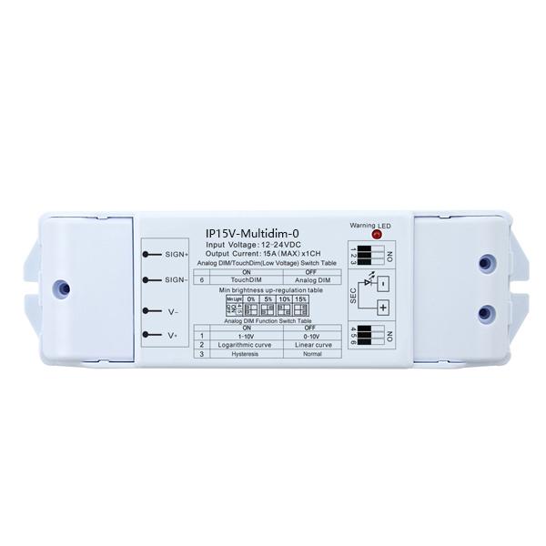 12-24DC 15A1ch CV 0-10V Dimmer IP15V-Multidim-0