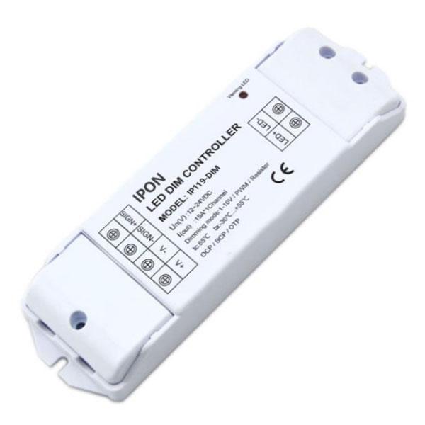 12-24VDC 15A1ch CV 1-10V Dimmer IP119-DIM