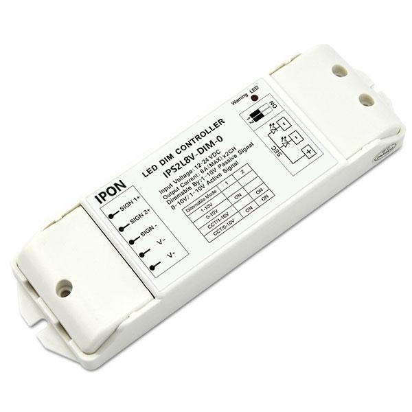 12-24VDC 8A2ch CV 0-10V Dimmer IPS2L8V-DIM-0