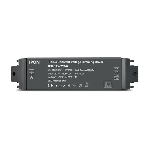 75W 12VDC 6.2A1ch CV Driver IP1H12V-75T-0