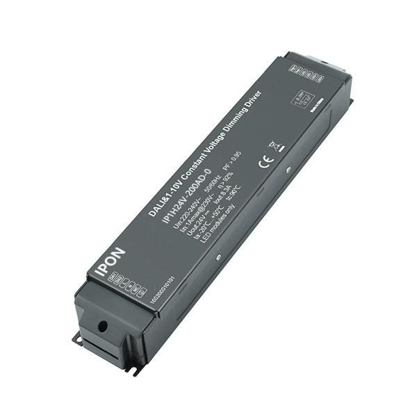 200W 24VDC CV DALI,1-10V Driver IP1H24V-200AD-0