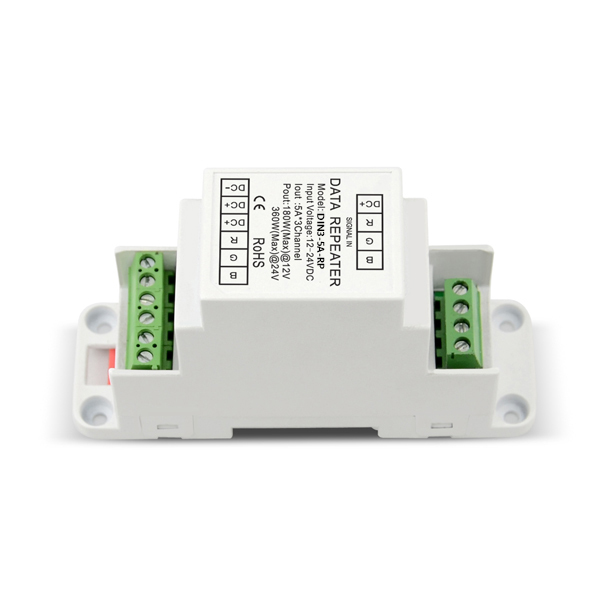 product-IPON LED-12-24VDC 5A3ch PWM Power Repeater DIN3-5A-RP-img