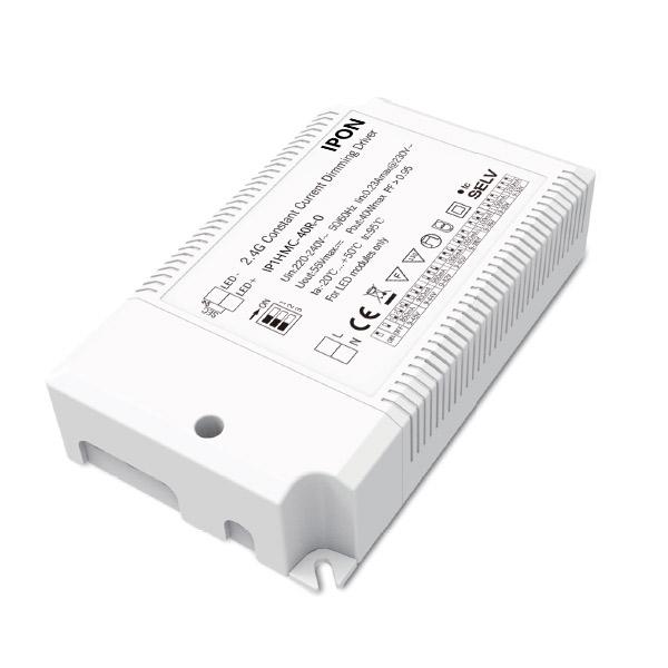 40W 850,900,950,1000,1050,1100,1150,1200mA1ch 2.4G CC LED Driver IP1HMC-40R-0
