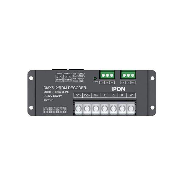 384~768W 8A*4ch CV DMX Decoder IP0408-PX
