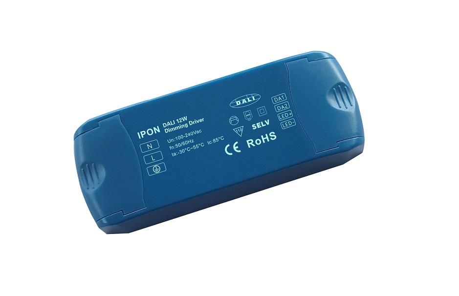 12W 12VDC 1A1ch CV DALI Driver IP1H12V-12D-0