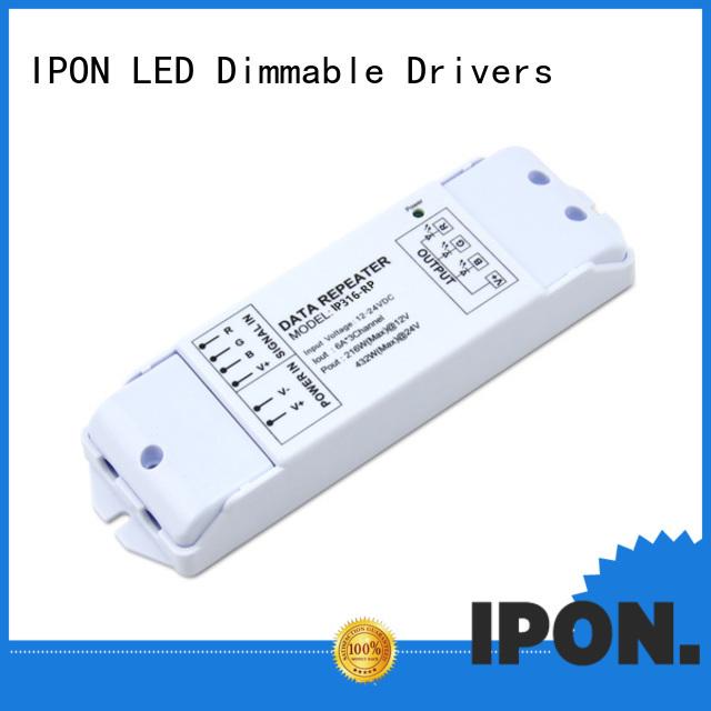 IPON LED Customer praise best power amplifier factory for Lighting control