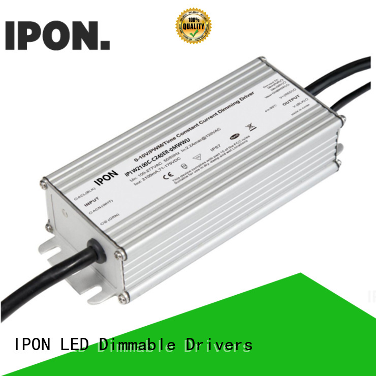 IPON LED High sensitivity programmable led drivers in China for Lighting adjustment