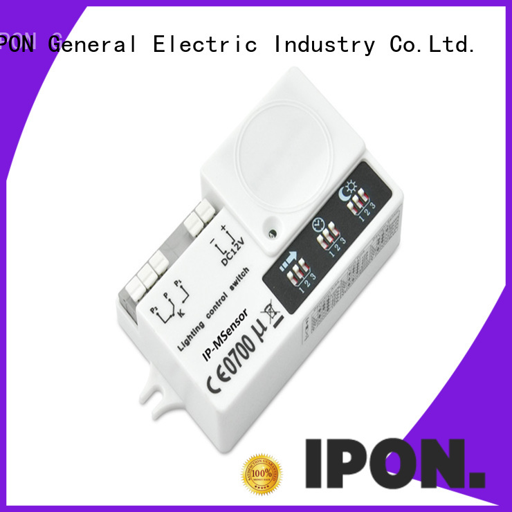 IPON LED popular microwave motion sensors Factory price for Lighting control system