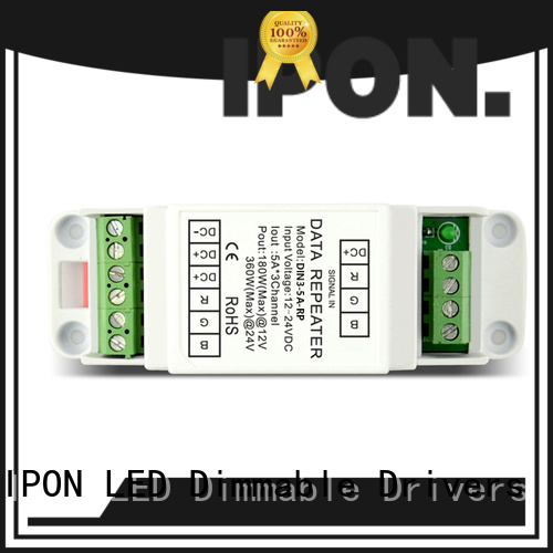 IPON LED pwm repeater in China for Lighting adjustment