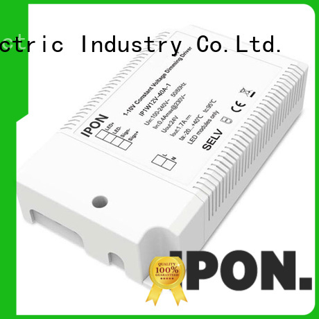 IPON LED High sensitivity constant voltage dimmable led driver China manufacturers for Lighting control system